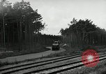 Image of Rocket on way to launch pad Peenemunde Germany, 1943, second 57 stock footage video 65675030650