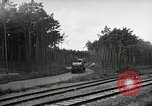 Image of Rocket on way to launch pad Peenemunde Germany, 1943, second 58 stock footage video 65675030650