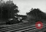Image of Rocket on way to launch pad Peenemunde Germany, 1943, second 62 stock footage video 65675030650