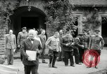 Image of Big Three leaders Truman Atlee and Stalin Potsdam Germany, 1945, second 9 stock footage video 65675030654