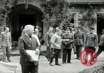 Image of Big Three leaders Truman Atlee and Stalin Potsdam Germany, 1945, second 10 stock footage video 65675030654