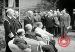 Image of Big Three leaders Truman Atlee and Stalin Potsdam Germany, 1945, second 25 stock footage video 65675030654