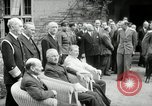 Image of Big Three leaders Truman Atlee and Stalin Potsdam Germany, 1945, second 28 stock footage video 65675030654