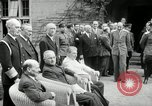 Image of Big Three leaders Truman Atlee and Stalin Potsdam Germany, 1945, second 29 stock footage video 65675030654
