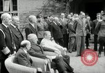 Image of Big Three leaders Truman Atlee and Stalin Potsdam Germany, 1945, second 39 stock footage video 65675030654