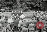 Image of Big Three leaders Truman Atlee and Stalin Potsdam Germany, 1945, second 42 stock footage video 65675030654