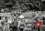 Image of Big Three leaders Truman Atlee and Stalin Potsdam Germany, 1945, second 46 stock footage video 65675030654