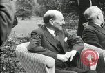 Image of Big Three leaders Truman Atlee and Stalin Potsdam Germany, 1945, second 56 stock footage video 65675030654