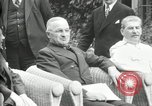 Image of Big Three leaders Truman Atlee and Stalin Potsdam Germany, 1945, second 59 stock footage video 65675030654