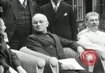 Image of Big Three leaders Truman Atlee and Stalin Potsdam Germany, 1945, second 60 stock footage video 65675030654