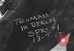 Image of President Harry S Truman Berlin Germany, 1945, second 4 stock footage video 65675030665