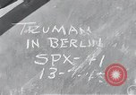 Image of President Harry S Truman Berlin Germany, 1945, second 18 stock footage video 65675030666
