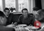 Image of Rocket and aircraft conference Germany Rechlin Air Station, 1943, second 15 stock footage video 65675030681