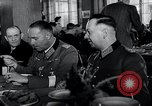 Image of Rocket and aircraft conference Germany Rechlin Air Station, 1943, second 17 stock footage video 65675030681