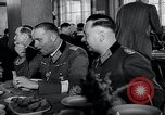 Image of Rocket and aircraft conference Germany Rechlin Air Station, 1943, second 18 stock footage video 65675030681