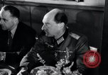 Image of Rocket and aircraft conference Germany Rechlin Air Station, 1943, second 22 stock footage video 65675030681