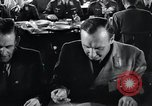 Image of Rocket and aircraft conference Germany Rechlin Air Station, 1943, second 32 stock footage video 65675030681