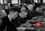 Image of Rocket and aircraft conference Germany Rechlin Air Station, 1943, second 48 stock footage video 65675030681