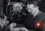 Image of Rocket and aircraft conference Germany Rechlin Air Station, 1943, second 49 stock footage video 65675030681