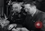 Image of Rocket and aircraft conference Germany Rechlin Air Station, 1943, second 50 stock footage video 65675030681
