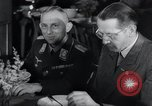 Image of Rocket and aircraft conference Germany Rechlin Air Station, 1943, second 51 stock footage video 65675030681