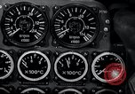 Image of ME-262 aircraft controls Germany, 1944, second 25 stock footage video 65675030702
