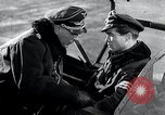 Image of ME-262 aircraft cockpit instruction Germany, 1944, second 30 stock footage video 65675030705