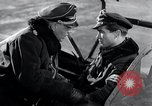 Image of ME-262 aircraft cockpit instruction Germany, 1944, second 31 stock footage video 65675030705