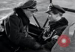 Image of ME-262 aircraft cockpit instruction Germany, 1944, second 33 stock footage video 65675030705
