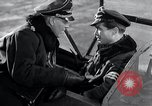 Image of ME-262 aircraft cockpit instruction Germany, 1944, second 43 stock footage video 65675030705