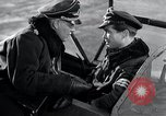 Image of ME-262 aircraft cockpit instruction Germany, 1944, second 44 stock footage video 65675030705