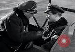 Image of ME-262 aircraft cockpit instruction Germany, 1944, second 45 stock footage video 65675030705