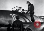 Image of ME-262 aircraft cockpit instruction Germany, 1944, second 59 stock footage video 65675030705