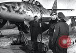 Image of ME-262 aircraft up on maintenance stands Germany, 1943, second 7 stock footage video 65675030710