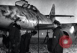 Image of ME-262 aircraft up on maintenance stands Germany, 1943, second 20 stock footage video 65675030710