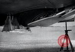 Image of ME-262 aircraft up on maintenance stands Germany, 1943, second 38 stock footage video 65675030710