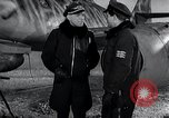 Image of ME-262 aircraft up on maintenance stands Germany, 1943, second 46 stock footage video 65675030710