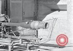 Image of German rocket engine Germany, 1942, second 44 stock footage video 65675030726