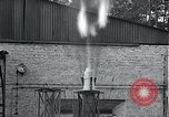 Image of Inverted German rocket engine test Germany, 1942, second 24 stock footage video 65675030732