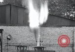 Image of Inverted German rocket engine test Germany, 1942, second 30 stock footage video 65675030732