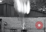 Image of Inverted German rocket engine test Germany, 1942, second 33 stock footage video 65675030732