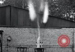Image of Inverted German rocket engine test Germany, 1942, second 34 stock footage video 65675030732