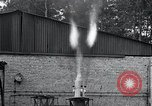 Image of Inverted German rocket engine test Germany, 1942, second 37 stock footage video 65675030732