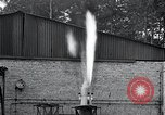 Image of Inverted German rocket engine test Germany, 1942, second 38 stock footage video 65675030732