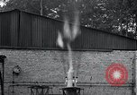 Image of Inverted German rocket engine test Germany, 1942, second 39 stock footage video 65675030732