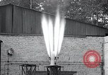 Image of Inverted German rocket engine test Germany, 1942, second 53 stock footage video 65675030732
