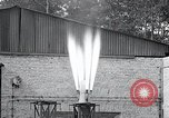 Image of Inverted German rocket engine test Germany, 1942, second 55 stock footage video 65675030732