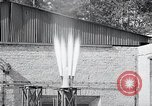 Image of Inverted German rocket engine test Germany, 1942, second 61 stock footage video 65675030732