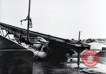 Image of V-1 charger and rocket mount and launch Germany, 1942, second 31 stock footage video 65675030733