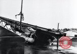 Image of V-1 charger and rocket mount and launch Germany, 1942, second 32 stock footage video 65675030733